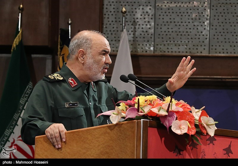 سخنرانی سردار سلامی جانشین فرمانده کل سپاه پاسداران در همایش حمایت از مردم مظلوم یمن