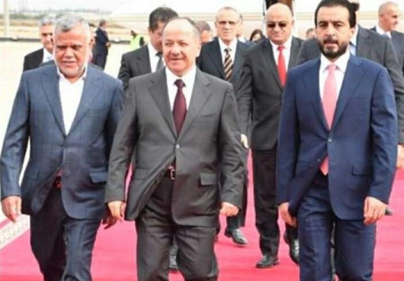 KDP Lideri Barzani, Bağdat'ta Siyasi Liderlerle Bir Araya Geldi