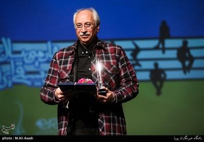 محمدجواد ضرابیان استاد موسیقی در مراسم چهارمین سال نوای موسیقی ایران