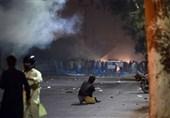 خادم رضوی کی گرفتار کے خلاف پرتشددمظاہرے، متعدد گاڑیاں نذر آتش
