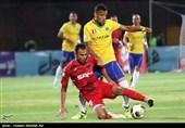 جام حذفی فوتبال  تساوی صنعت نفت و سایپا در 45 دقیقه اول