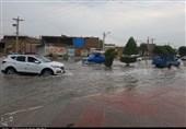 تندباد و بارش برف استان خوزستان را دربرمیگیرد