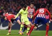 فوتبال جهان| بارسلونا با فرار از شکست در خانه اتلتیکومادرید صدرنشین ماند