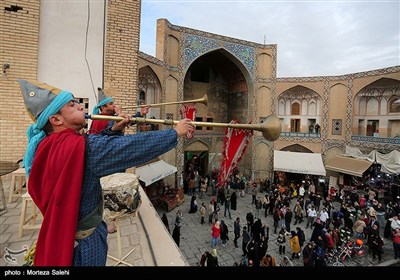 اصفهان قدیم در میدان نقش جهان اصفهان