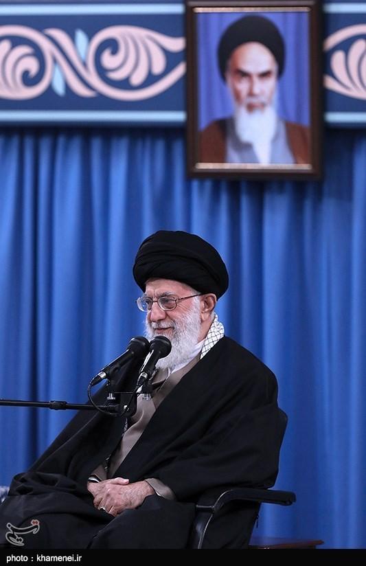 دیدار میهمانان اجلاس بینالمللی وحدت اسلامی با رهبرمعظم انقلاب