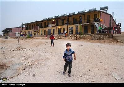 اسکان آوارگان و شیعیان فوعه کفریا در شهرک حسیاء کشور سوریه
