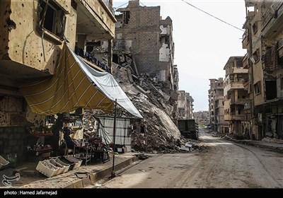 با آزادسازی شهر دیرالزور و پاکسازی تروریست ها توسط مدافعان حرم و نیروهای حزب الله مردم شهر و روستا زندگی خود را از سر می گیرند