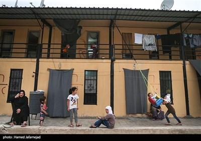 اسکان آوارگان و شیعیان فوعه و کفریا در شهرک حسیاء کشور سوریه