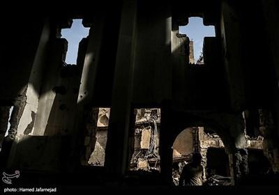 انفجار و تخریب یکی از کلیساهای ارامنه در شهر دیرالزور سوریه بدست گروهک تروریستی داعش