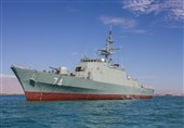 Iran's New Destroyer to Begin Ocean Voyage after Launch
