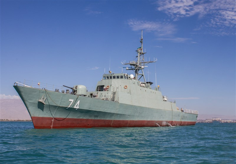 Iranian Destroyer Equipped with Homegrown Point-Defense System