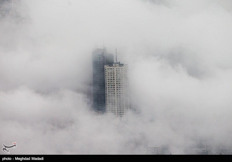 تهران زیر ابرهای پائیزی