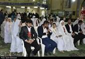 مراسم ازدواج 110 زوج معلول در برج میلاد برگزار شد
