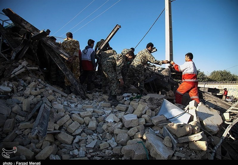 مصدومیت 780 نفر به دنبال زلزله استان کرمانشاه؛40 نفر در بیمارستانهای کرمانشاه بستری شدند