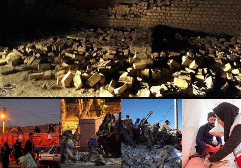 تازهترین اخبار از زلزله 6.4 ریشتری کرمانشاه| مصدومیت 780 نفر/ خسارت به 200 تا 300 واحد مسکونی / حضور به موقع نیروهای سپاه و ارتش در مناطق زلزلهزده