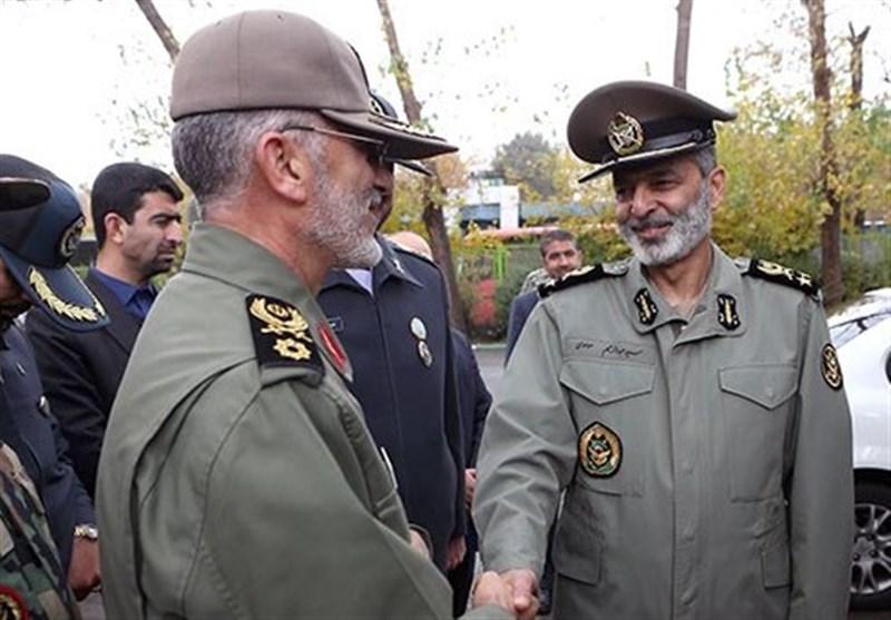 سردار شیرازی با فرمانده ارتش دیدار کرد
