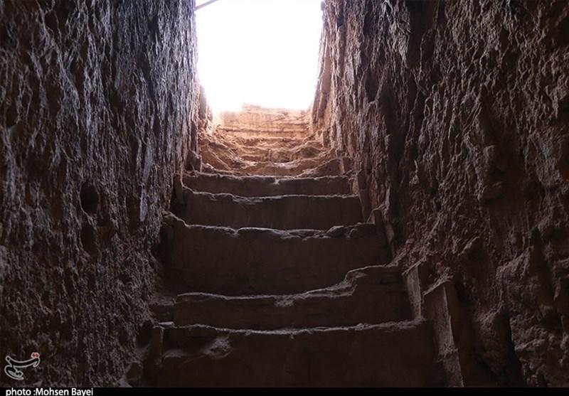 کاشان شهر زیرزمینی طسمیجان سفیدشهر؛ شهری تاریخی در دل کویر+فیلم