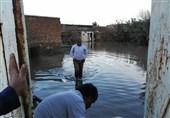 لرستان| آبگرفتگی 100 خانه در «سراب حمام»؛ آب 30 روستای پلدختر وصل شد