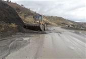 خوزستان  دیوار جاده ساحلی دزفول ریزش کرد