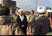 مسئول نمایندگی ولی فقیه در سپاه کرمانشاه از مناطق زلزلهزده بازدید کرد