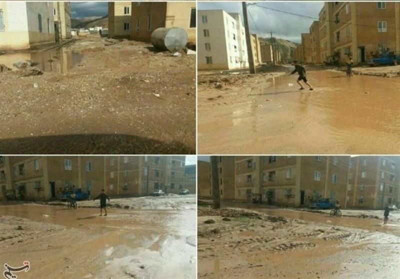 قطعی آب شرب 4 روستا در پلدختر؛ خسارت 400میلیون تومانی سیلاب به تأسیسات آب روستایی