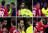 فوتبال جهان| دلیل مشاجره کاستا و گریزمان در مصاف با بارسلونا چه بود؟