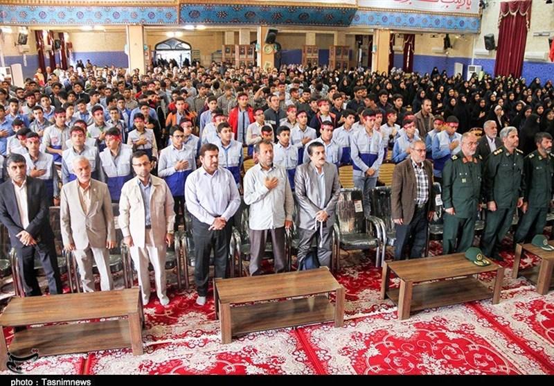 تجمع بسیجیان بوشهری به روایت تصویر