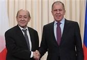 مذاکرات وزرای خارجه روسیه و فرانسه درباره حفظ برجام
