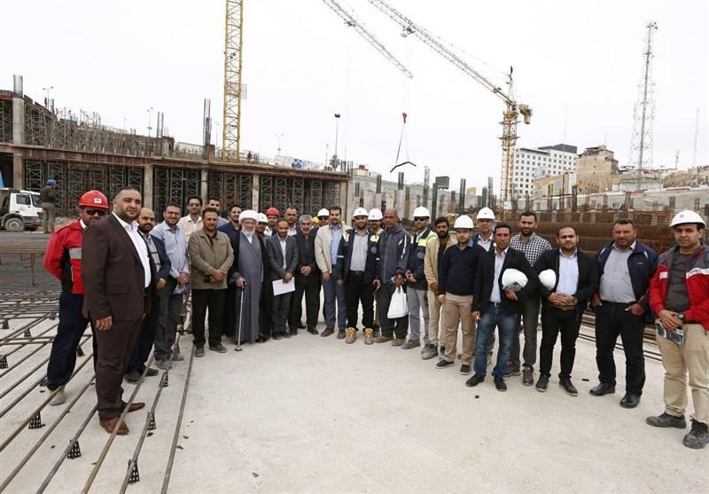 غلبه مهندسان ایرانی بر چالشهای فنی طرح توسعه حرم امام حسین(ع) در کربلا