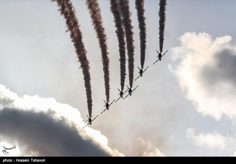 نمایش هوایی در کیش