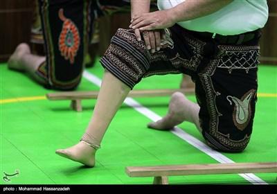مراسم گلریزان جامعه ورزش کشور در حمایت از مردم مظلوم یمن