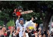 گسترش اعتراضات در تونس در مخالفت با سفر بنسلمان+عکس و فیلم