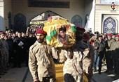 بدرقه باشکوه شهید حزبالله+عکس و فیلم
