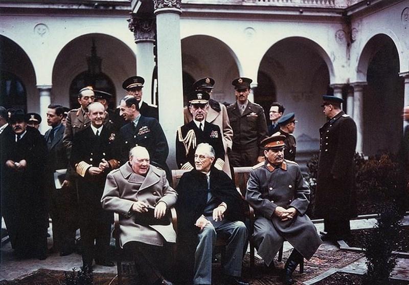 ورود بدون اجازه «چرچیل»، «استالین» و «روزولت» به خاک ایران + عکس
