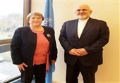Iran's Zarif Meets Heads of International Bodies in Geneva