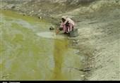 بحران آب در بلوچستان| یکمیلیون نفر در خطر اپیدمی فراگیر+فیلم