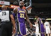 لیگ NBA| شکست تاریخی لیکرز/ پیروزی پیستونز با درخشش گریفین