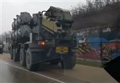 Russian Military Hardware Filmed Moving towards Crimean City of Kerch (+Video)