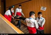 مانور زلزله و ایمنی در استان قزوین برگزار شد