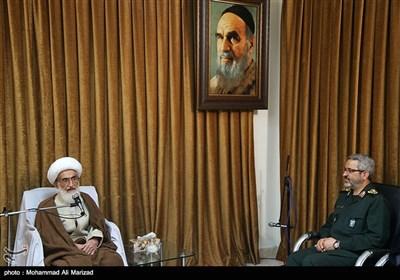 دیدار رئیس سازمان بسیج با علما و مراجع عظام تقلید