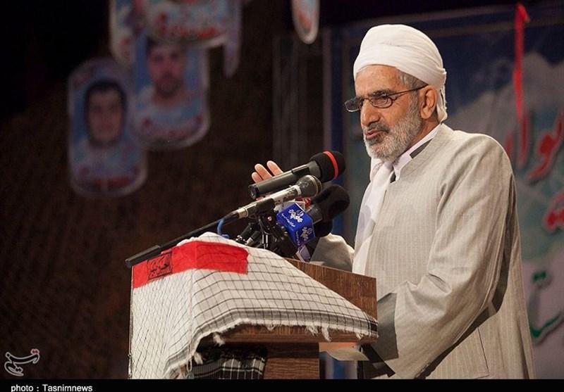 یادواره شهدای کرامت ــ مریوان| ماموستا رستمی: جوانان برومندمان نمیگذارند دست ناپاک تروریستها به ایران برسد