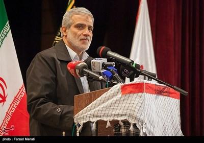 سخنرانی مجید قلی زاده مدیر عامل خبرگزاری تسنیم در یادواره شهدای حادثه تروریستی مریوان