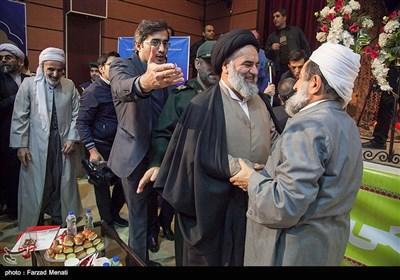 آیتالله سیدمحمد حسینیشاهرودی نماینده ولی فقیه در استان کردستان در یادواره شهدای حادثه تروریستی مریوان