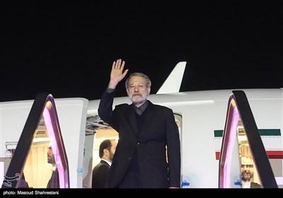 بدرقه علی لاریجانی رئیس مجلس شورای اسلامی در سفر به ترکیه
