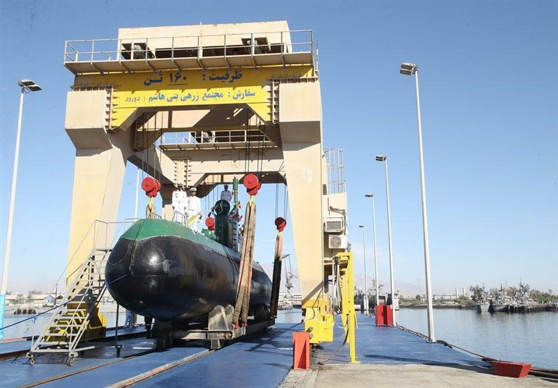 2 New Submarines Join Iran Navy's Fleet