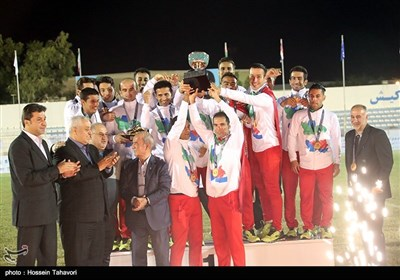 فینال رقابتهای فوتبال هفت نفره قهرمانی آسیا - کیش