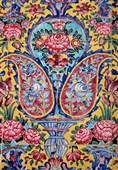 هنر کاشی هفترنگ شیراز ملی میشود / هفت رنگ اماکن تاریخی و متبرکه