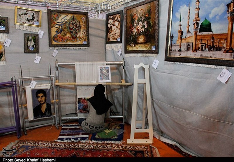 بوشهر| نمایشگاه توانمندیهای روستایی و عشایری گناوه به روایت تصویر