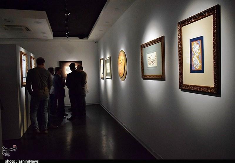 کاشان میزبان آثار خوشنویسان یزد، کردستان و اصفهان+تصاویر