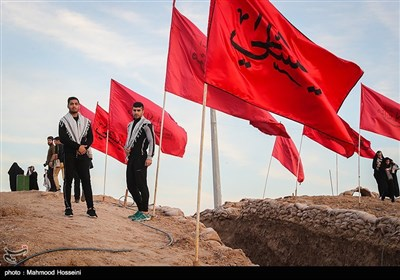 اعضای تیم ملی جودو در اردوی راهیان نور کاروان فرهنگی، ورزشی مدال آوران کشور